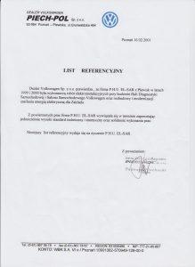 Referencje dla el-sar od piech-pol