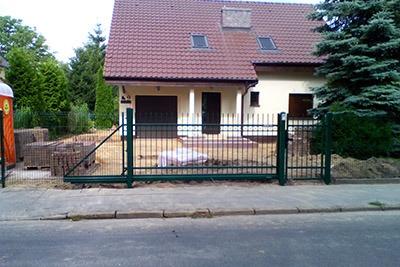 Dla Domu - brama ogrodzeniowa
