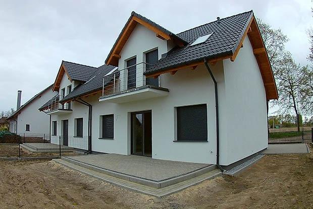 Realizacja domu przy ulicy rubinowej